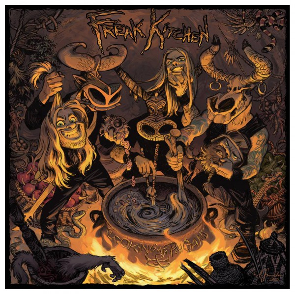 Freak Kitchen - Cooking with pagans - front